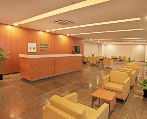 Suzlon Excellence Academy – Reception Area